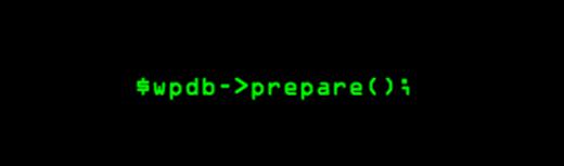 wpdb_prepare