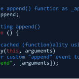 jQuery-append-event